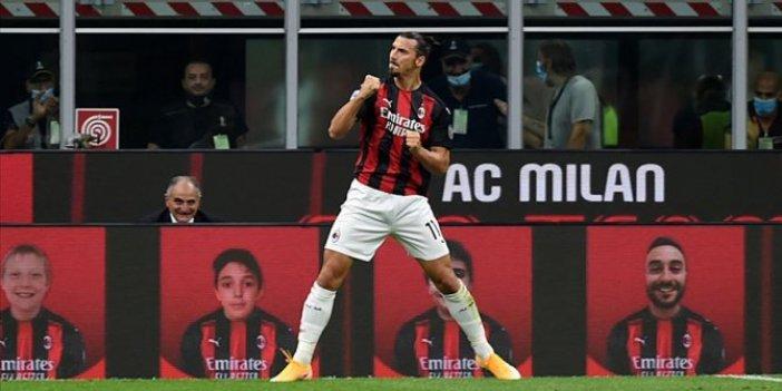 Ibrahimovic atıyor Milan kazanıyor