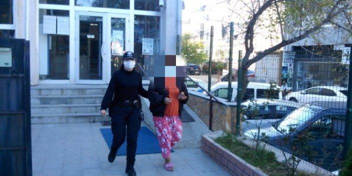 İntihara kalkıştı tutuklandı