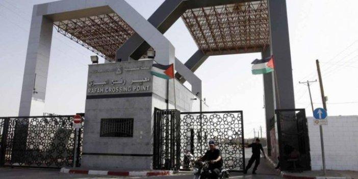 Gazze ile Mısır arasındaki Refah Sınır Kapısı açıldı