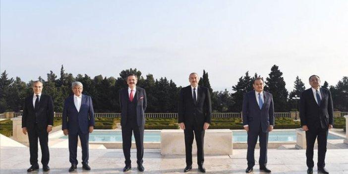 Aliyev, Türk Ticaret ve Sanayi Odası heyetini kabul etti