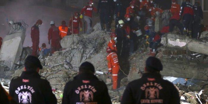 İzmir'deki depremde can kaybı 98'e yükseldi. Arama-kurtarma çalışmaları devam ediyor