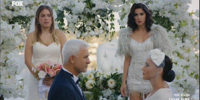 Yasak Elma sosyal medyayı salladı, 1 düğün 1 damat 3 gelin