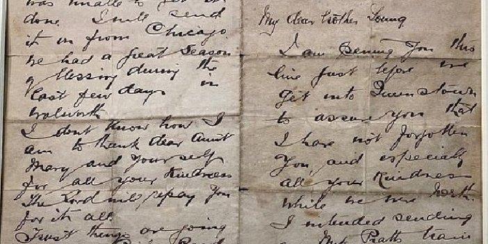 Titanic papazının mektubu satılacak
