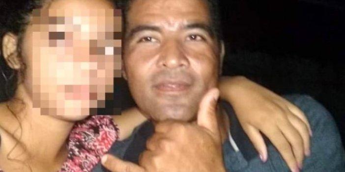 Brezilya polisi adamı fellik fellik arıyor. Tacizcisinden hamile kalan kız yavrusunu kucağına alamadı.