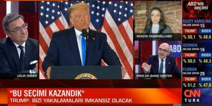Tarihi ABD seçimlerini iç mimar yorumladı. CNN Türk ekranlarında skandal yaşandı