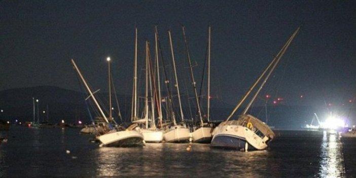 İzmir'deki tsunaminin bilançosunu Sahil Güvenlik Komutanlığı açıkladı