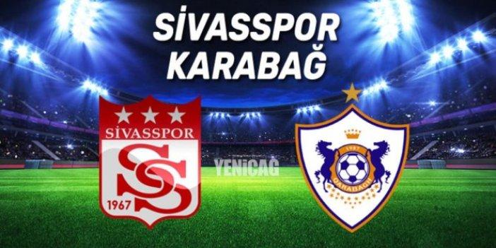 Sivasspor-Karabağ UEFA Avrupa Ligi maçı ne zaman, saat kaçta, hangi kanalda. Sivasspor-Karabağ maçı şifreli mi, şifresiz mi yayınlanacak?
