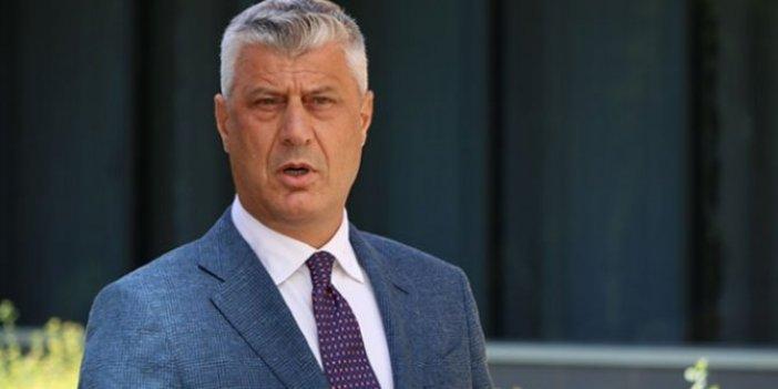 Kosova Cumhurbaşkanı Haşim Thaçi görevinden istifa etti
