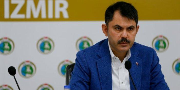 Bakan Murat Kurum'dan İzmir depremine ilişkin açıklama