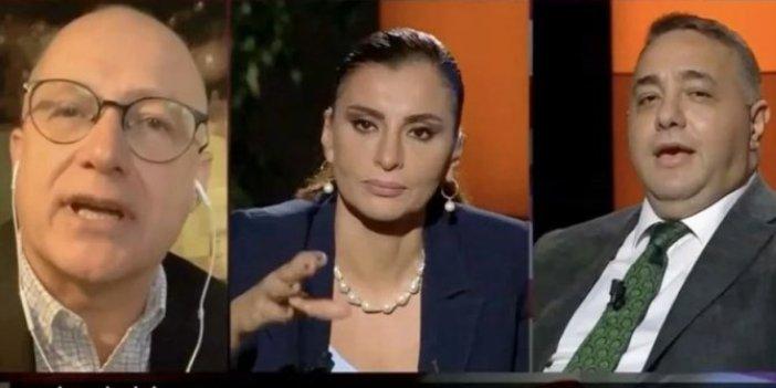 CNN Türk'te ABD seçimlerinin konuşulduğu programda hakaretler havada uçuştu. Sen aptal, şapşal bir adamsın. Gazeteciler Razi Canikligil ile Zafer Şahin birbirine girdi