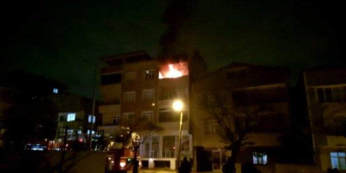 Tuzla'da sıcak saatler. Eşine kızıp evi yaktı