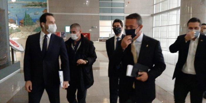 Fenerbahçe Başkanı Ali Koç ve eski başkan Aziz Yıldırım Çağlayan Adliyesi'nde