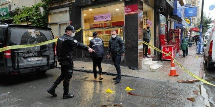 İstanbul Şişli'de güpegündüz silahlı kavga: Dede- torun yaralı