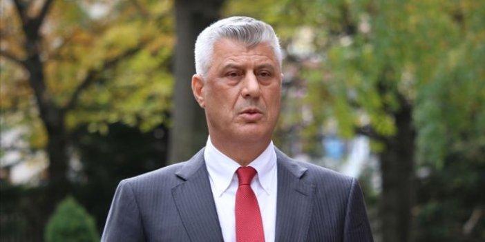 Eski Kosova Cumhurbaşkanı Thaçi'nin hakim karşısına çıkacağı tarih açıklandı