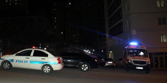 Kayseri'de bir binanın 10'uncu katındaki sır intihar