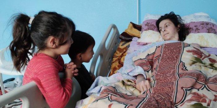 Kadınlar gününde gelen felaket. Yangında çocuklarını ve eşini kurtaran fedakar anne yatalak kaldı
