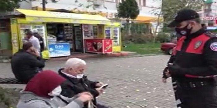 Yaşlı çiftin davranışı herkese örnek oldu, gel de bu çifte ceza kes