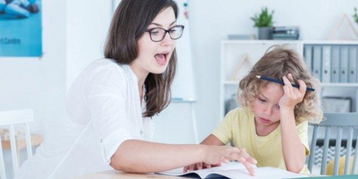 Prof. Dr. Yeşim Fazlıoğlu her beş çocuktan birinde disleksi görülüyor deyip annelere önemli uyarı yaptı