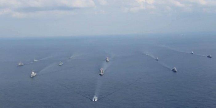 Mavi Balina-2020 tatbikatı Doğu Akdeniz'de devam ediyor