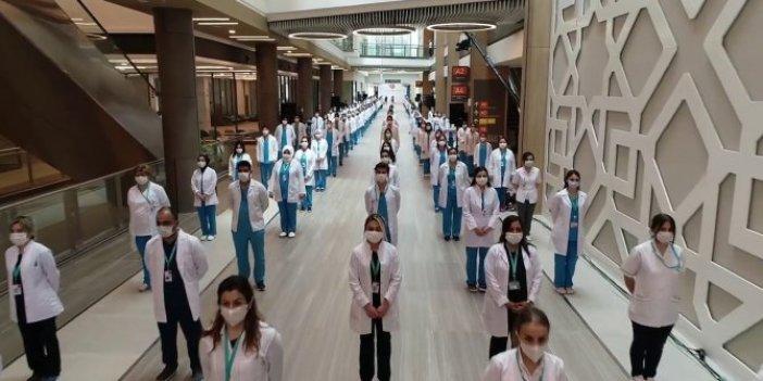 Çam ve Sakura Şehir Hastanesi'ndeki sağlık çalışanları feryat etti. Salgınla mücadelenin şok gerçeklerini bir bir sıraladılar