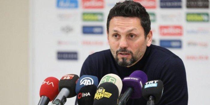 Fenerbahçe teknik direktörü Erol Bulut, milli maç arasından sonrayı işaret etti