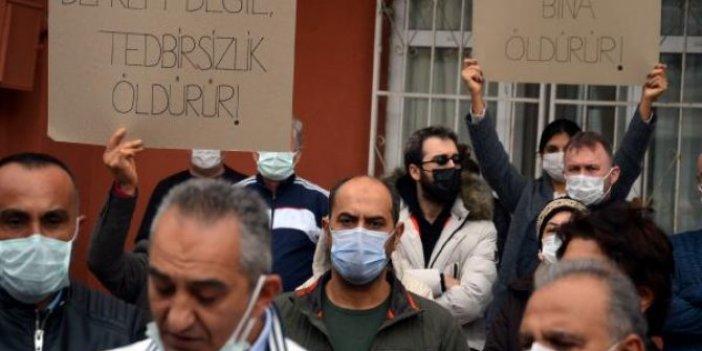 Tapu var, iskan var, imar yok. İstanbul'da 2 bin konut ve iş yerinde ölümü bekliyorlar