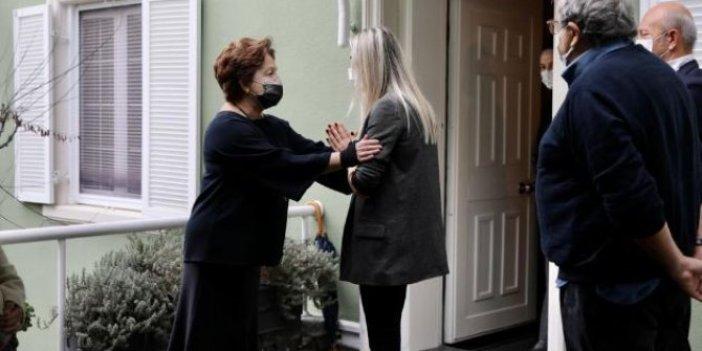 İBB Başkanı Ekrem İmamoğlu'ndan hayatını kaybeden eski başbakanlardan Mesut Yılmaz'ın ailesine ziyaret