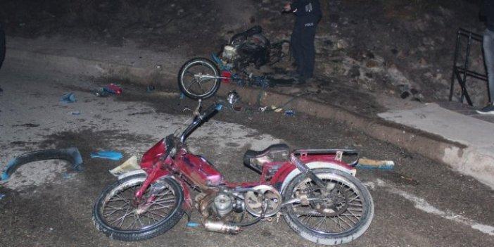 Motosikletler kundaklanınca ilçeyi panik sardı