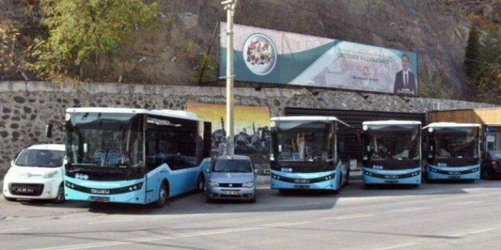 Belediyenin otobüs ihalesini başkanın aile şirketi kazandı