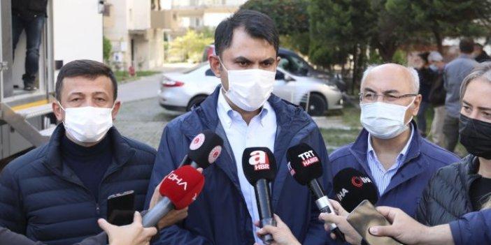 Bakan Kurum, İzmir'deki hasarlı bina sayısını açıkladı