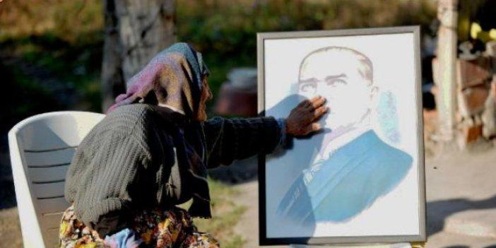 120 yaşındaki Fatma nine Atatürk ile arasındaki ekmek anısını böyle anlattı