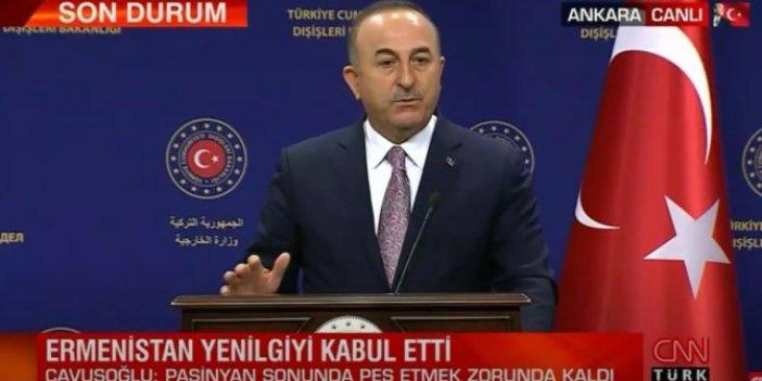 """Çavuşoğlu, """"Ermenistan bedelini ağır ödedi"""""""