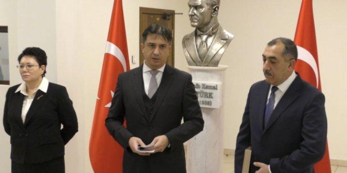 Gazi Mustafa Kemal Atatürk Kiev'de anıldı