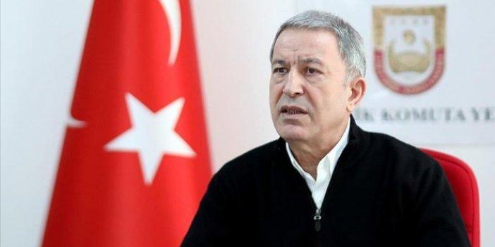 Milli Savunma Bakanı Hulusi Akar'dan Yunanistan'a sert tepki