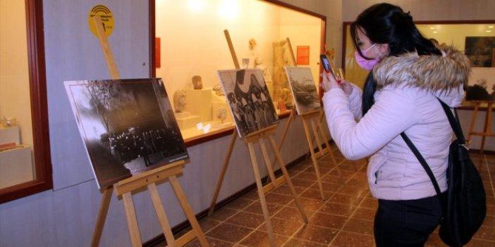 """Amasya'da """"10 Kasım Anılarla Atatürk"""" sergisi açıldı"""