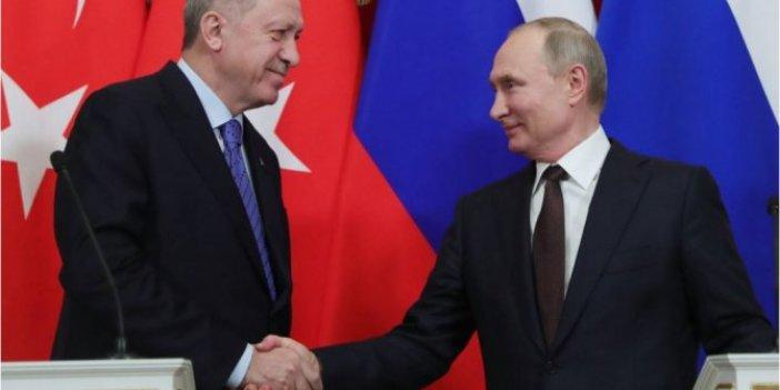 Cumhurbaşkanı Erdoğan ve Putin arasındaki görüşmenin detayları belli oldu