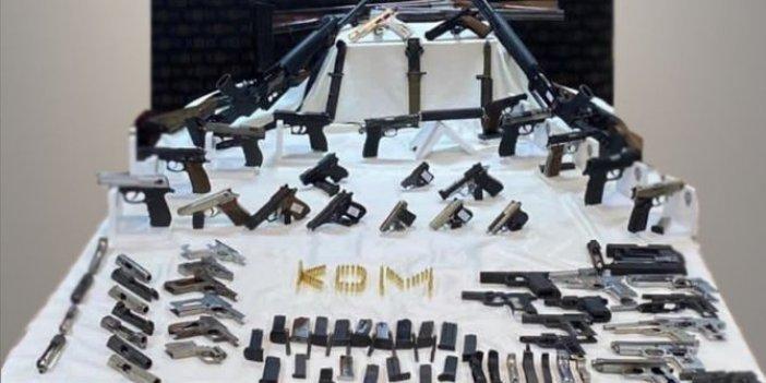 Kocaeli'nde silah kaçakçılarına operasyon