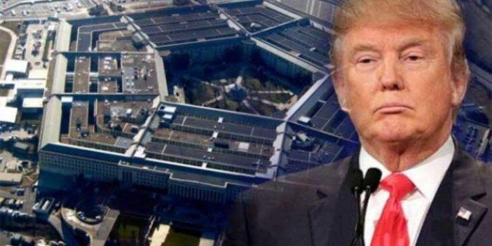 Trump'tan Pentagon'un kritik isimlerine operasyon