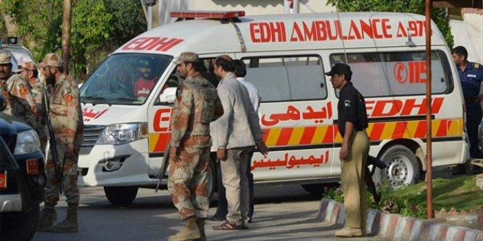 Pakistan'da 'çinçi' faciası: Çok sayıda ölü var