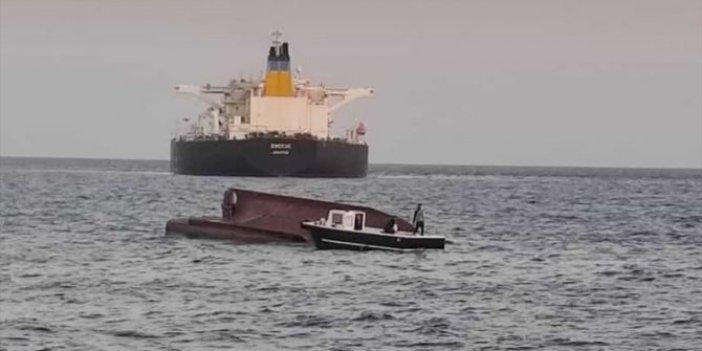 Yunan tankeri Türk balıkçı teknesinin üzerinden geçti. Akdeniz'de facia,5 balıkçı aranıyor