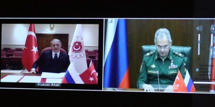Türkiye-Rusya mutabakat zaptı imzalandı. Milli Savunma Bakanlığı görüntüleri paylaştı