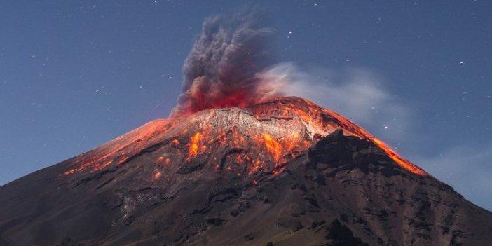 Popocatepetl Yanardağı korku saçıyor. Külleri yerleşim yerinde