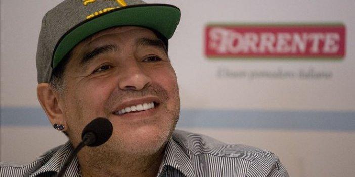 Maradona'dan sevindirici haber