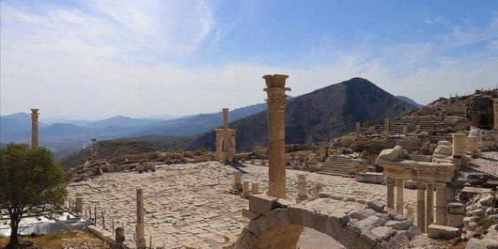 Sagalassos Antik Kenti birçok krallığa ev sahipliği yaptı. İnternette gören soluğu burada alıyor