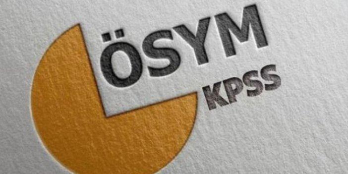 2020-KPSS Ortaöğretim sınava giriş belgeleri yayımlandı