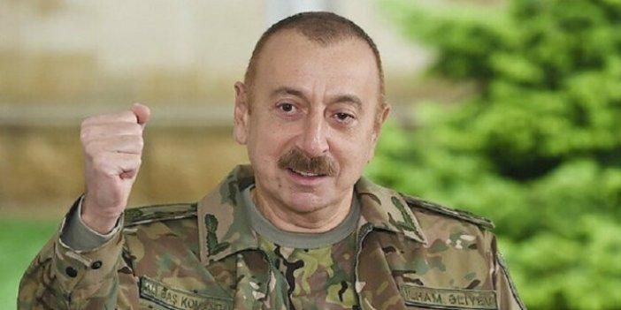 Aliyev'den tazminat açıklaması