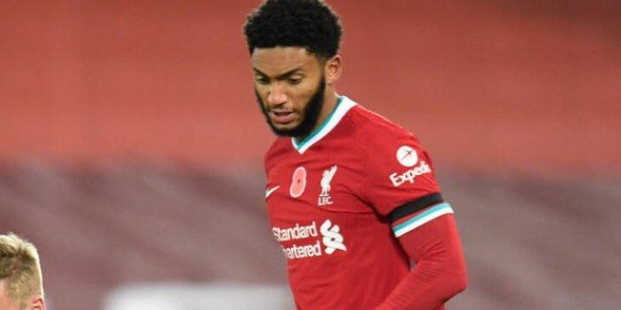Liverpoollu Gomez sezonun önemli kısmında yok