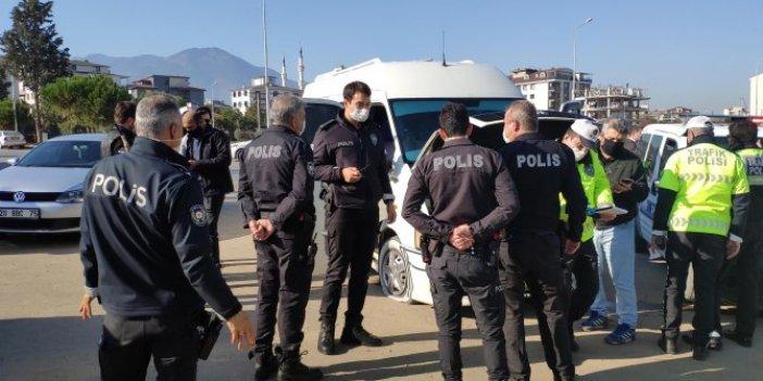 Polisten nefes kesen kovalamaca, kapanla durdurabildiler