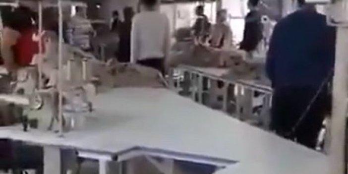 10 Kasım'da terörist sloganı atan çalışanını evire çevire dövdü, ellerin dert görmesin