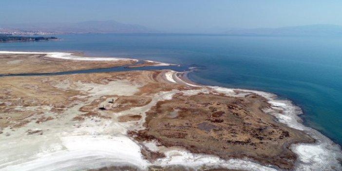Sular çekilince yavaş yavaş ortaya çıktı. Türk bilim insanı açıklama yaptı